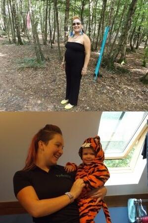 Pregnant Ayesha and Ayeshya and Tavia health
